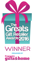 the great gifts retailer awards 2016 winner